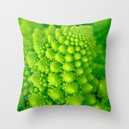 Broccosaurus Throw Pillow