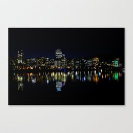 Wellington City Scape Canvas Print
