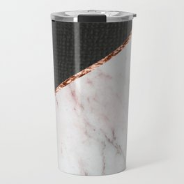 Marble fashion texture Travel Mug