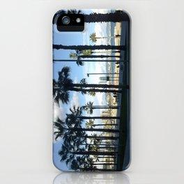 Barcelona Beach Promenade iPhone Case