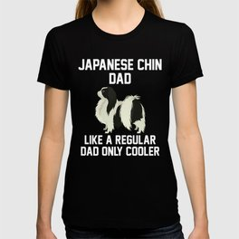 Funny Japanese Chin Dad T-shirt