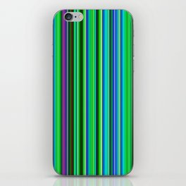 Colorful Barcode iPhone Skin
