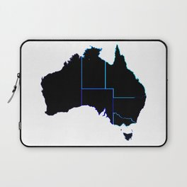 Australia States In Silhouette Laptop Sleeve