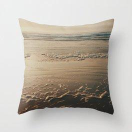 Deep Wide Ocean Throw Pillow