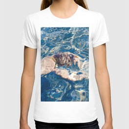 Underwater diffraction T-shirt