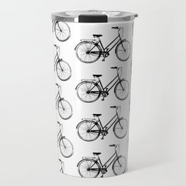 Vintage Bicycles Travel Mug