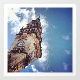 Clock Tower, Sheffield Art Print
