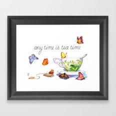 September Framed Art Print