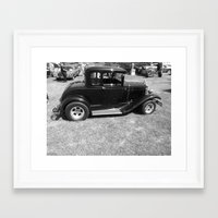 forever young Framed Art Prints featuring forever young by Dottie