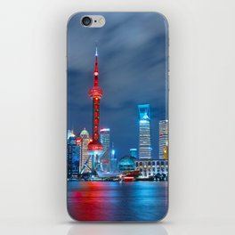 Shangai, China iPhone Skin