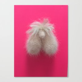 Norman (pink) Canvas Print