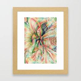 The lamb Framed Art Print