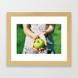 Organic Framed Art Print