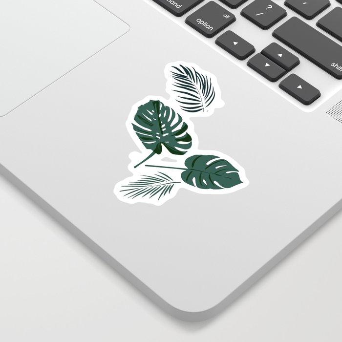 Tropical palm Sticker