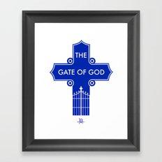 The Gate Of God Framed Art Print