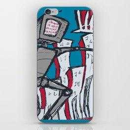 Manhattan vs. Depressed Giant Robot iPhone Skin