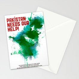 PK Flooding Stationery Cards