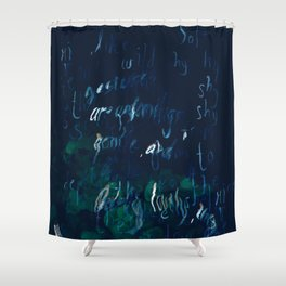 """""""Conquest of the Useless"""" by Werner Herzog Print (v. 9) Shower Curtain"""