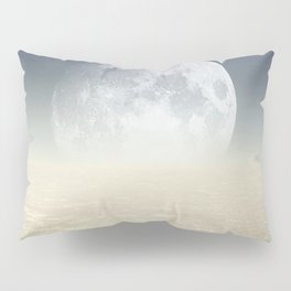 Desert Moon, Sepia Blue Pillow Sham