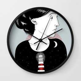 To the Lighthouse - Virginia Woolf Wall Clock