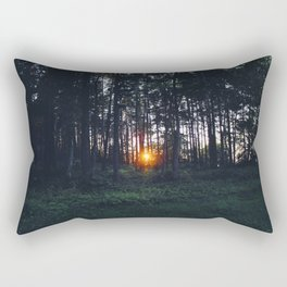 Glimmer of Hope #Sunset Rectangular Pillow