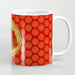 Three Legged Lucky Money Frog Feng-shui Coffee Mug