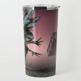 Alien Flower Travel Mug