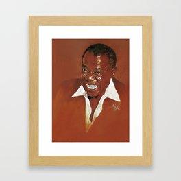 Louis Armstrong Framed Art Print