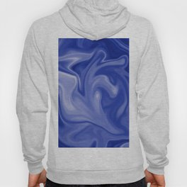 Marble Blues White Hoody