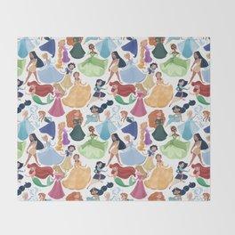 Forever princess Throw Blanket