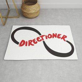 One Diection Directioner Forever Fan Logo Rug