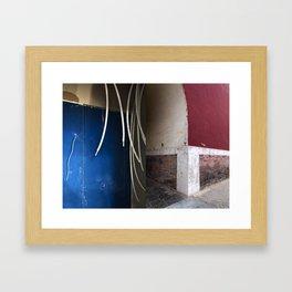 Juxtapose I Framed Art Print