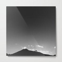 Minimal Mountain Metal Print
