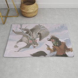 Frost - The legend of the snow beast was true Rug