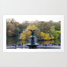 Central Park Fall Series 9 Art Print