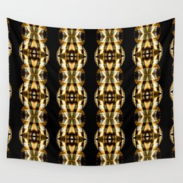 DIGI TRIBE YELLOW Wall Tapestry