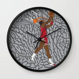 Jordan Dunk Contest Wall Clock