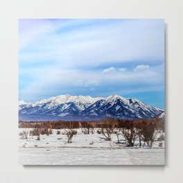 Sayan Mountains Metal Print