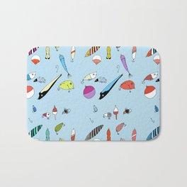 Fishing Lures Bath Mat