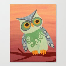 Owl All About It Canvas Print