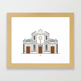 Iglesia de San Francisco Framed Art Print