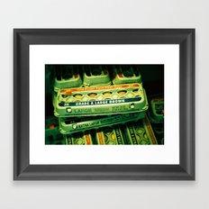 Grade A Large Brown Framed Art Print