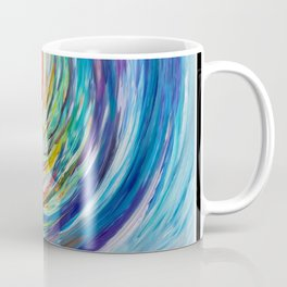 Rainbow Wave Coffee Mug