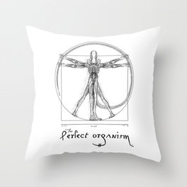 Perfect Organism Throw Pillow