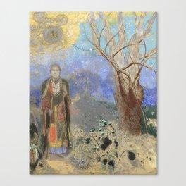 The Buddha by Odilon Redon, 1905 Canvas Print