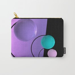 4 colored deco Carry-All Pouch