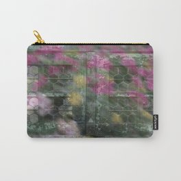 Honeycomb Glass Carry-All Pouch