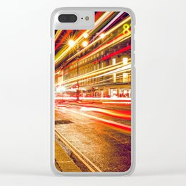 Street lights Clear iPhone Case