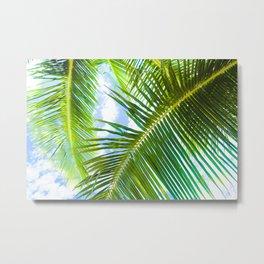 Aloha Lāhainā Palms Maui Hawaii Metal Print