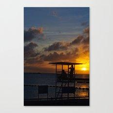 Super Typhoon Sunset II Canvas Print